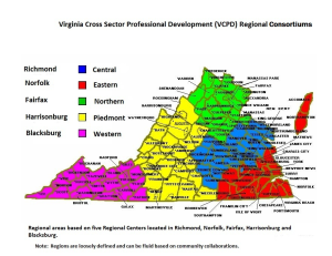 VCPD Regional Map for PD Hubs